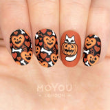 Nail Stamping Plate MoYou Festive 61 - Cute Halloween Palette