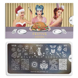 Nail Stamping Plate  MoYou Festive 63 - Mystic Vibes