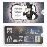Daily Charme Nail Art Supply Moyou London Stamping Plate Gothic 04