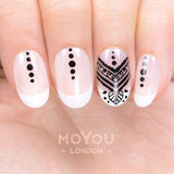 Daily Charme Nail Art Stamping Plate Moyou London Henna 6