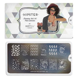 Daily Charme Moyou London Nail Art Stamping Plate / Hipster 22