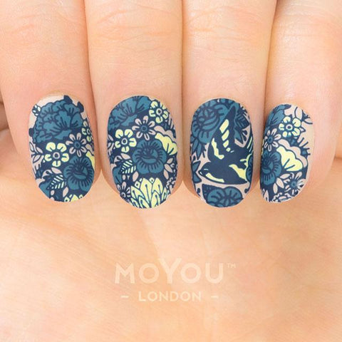 Daily Charme Moyou London Nail Art Stamping Plate / Hipster 25
