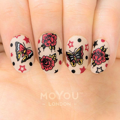 Daily Charme Moyou London Nail Art Stamping Plate / Hipster 26