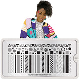 Daily Charme Moyou London Nail Stamping Plate Holy Shapes 19 - Mix & Match