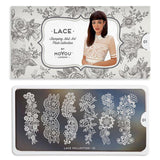 Daily Charme Moyou London Nail Stamping Plate Lace 01