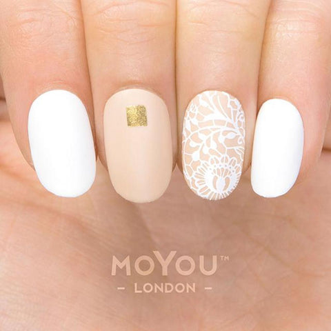 Daily Charme Moyou London Nail Stamping Plate Lace 03