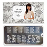 Daily Charme Moyou London Nail Stamping Plate Lace 04