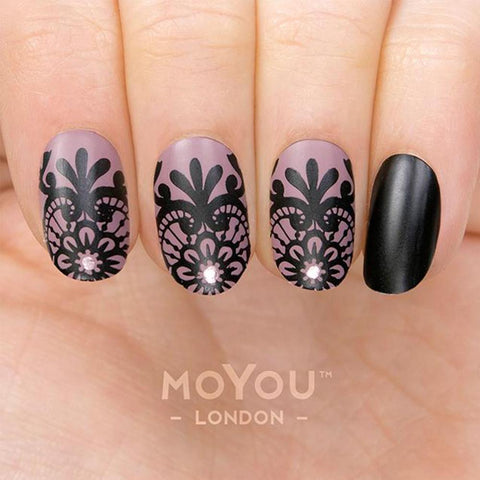 Daily Charme Moyou London Nail Stamping Plate Lace 06