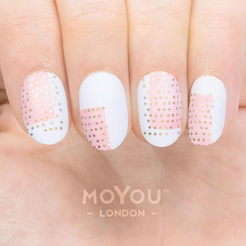 Daily Charme Moyou London Nail Art Stamping Plate Minimal 09