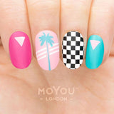 Daily Charme Nail Art Stamping Plate Moyou London Mix & Match 13