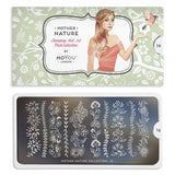 Mother Nature 16 - Floral Vines MoYou Stamping Plate