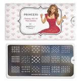 Moyou London Nail Art Stamping Princess 15 - Cute Palettes Small