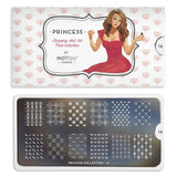 Moyou London Nail Art Stamping Princess 16 - Cute Palettes Large