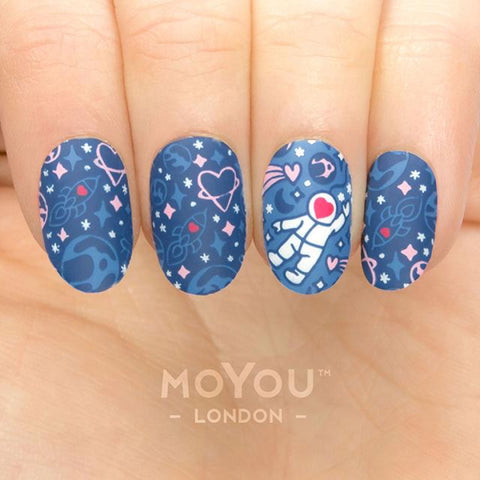 Moyou London Nail Art Stamping Princess 19 - Spacing Out