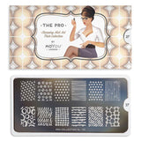Daily Charme Nail Art Supply Moyou London Nail Stamping Plate ProXL 27