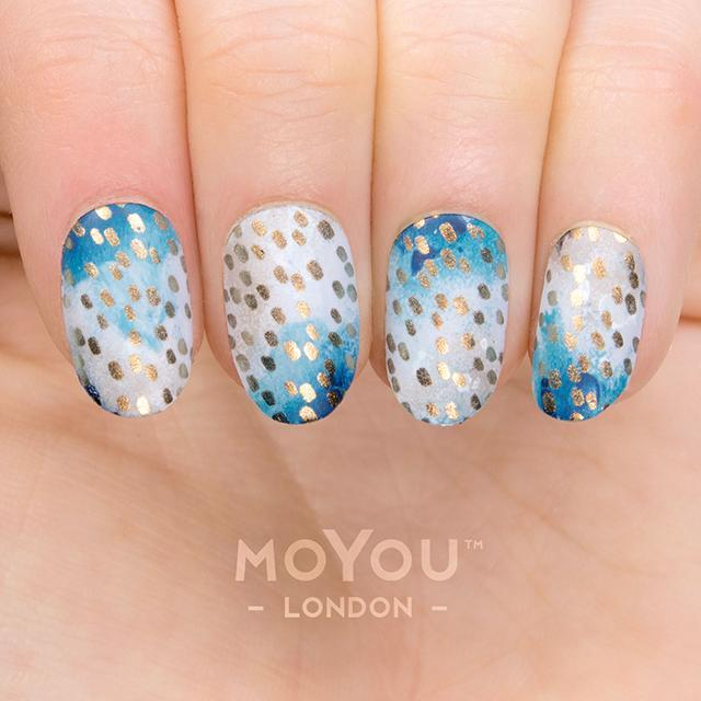 Daily Charme Nail Art Supply Moyou London Stamping Plate Pro XL 29