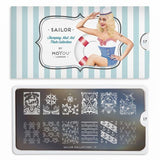 Moyou London Nail Art Stamping Sailor 17 - Sea Voyage Palettes Large