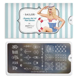 Moyou London Nail Art Stamping Sailor 19