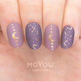 Daily Charme Moyou London Nail Art Stamping Plate / Scandi 09