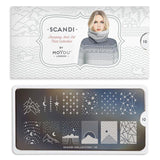 Daily Charme Moyou London Nail Art Stamping Plate / Scandi 10