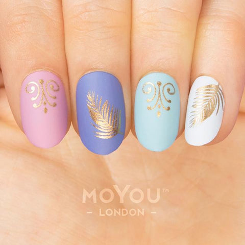 Daily Charme Nail Art Stamping Plate Moyou London Summer Lovin' 01 - Arabian Nights
