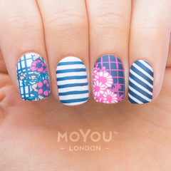Daily Charme Moyou London Stamping Plate Trend Hunter Nail Art