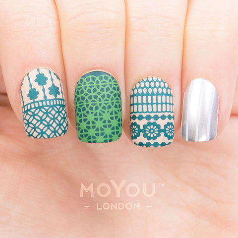 Daily Charme Moyou London Stamping Plate Trend Hunter 09