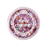 Pink Holographic Mixed Hex Glitters for Nail Art 20G