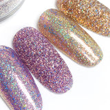 Iridescent Holographic Glitter - Lavender Soufflé is a gorgeous purple glitter that is both iridescent and holographic
