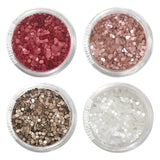 Dainty Glitter Dots Set / 4 Jars Nail Art Supply 1MM