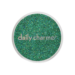 Daily Charme Solvent Resistant Nail Art Decoration Holographic Glitter Dust / Brilliant Teal