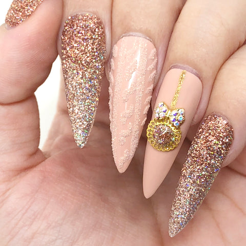 Daily Charme Solvent Resistant Nail Art Iridescent Glitter Dust / Sparkling Night