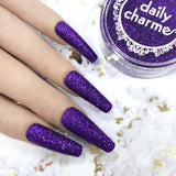Metallic Glitter Dust / Purple Reign Nail Art Supplies