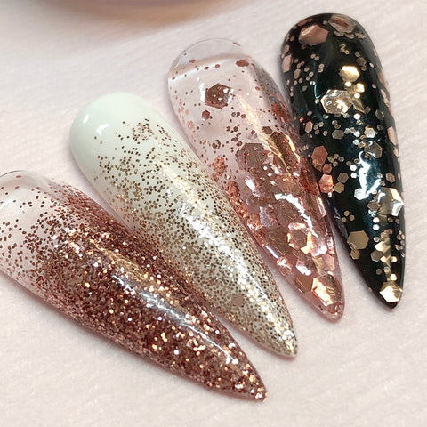 Metallic Mixed Hex Glitter / 20G / Moroccan Sand for Nail Art