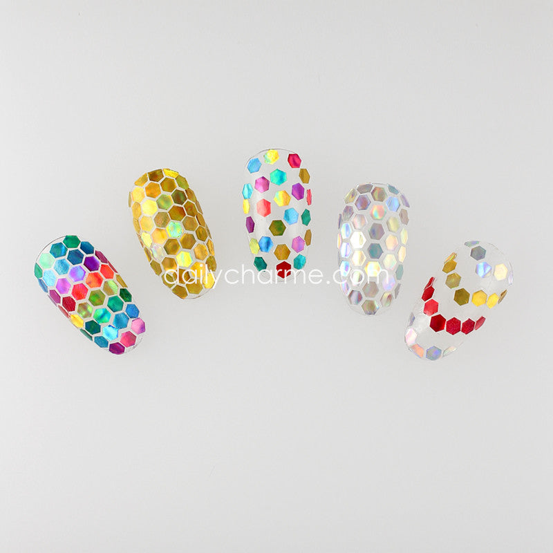 Holo Hex Glitter Set / 0.094