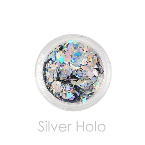 Daily Charme Solvent Resistant Glitter Silver Holo Diamond Glitter