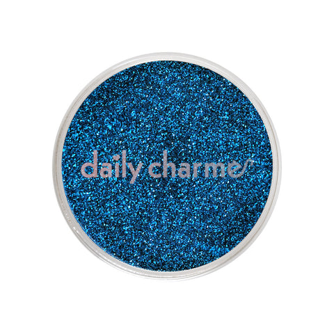 Daily Charme Solvent Resistant Nail Art Decoration Metallic Glitter Dust / Aegean Blue
