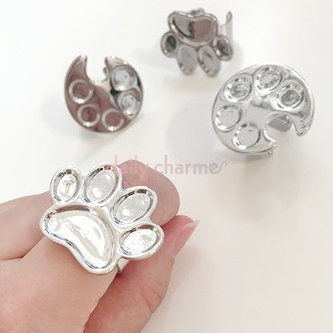 Daily Charme Ring Palette Paw Pawlette Nail Art Tool