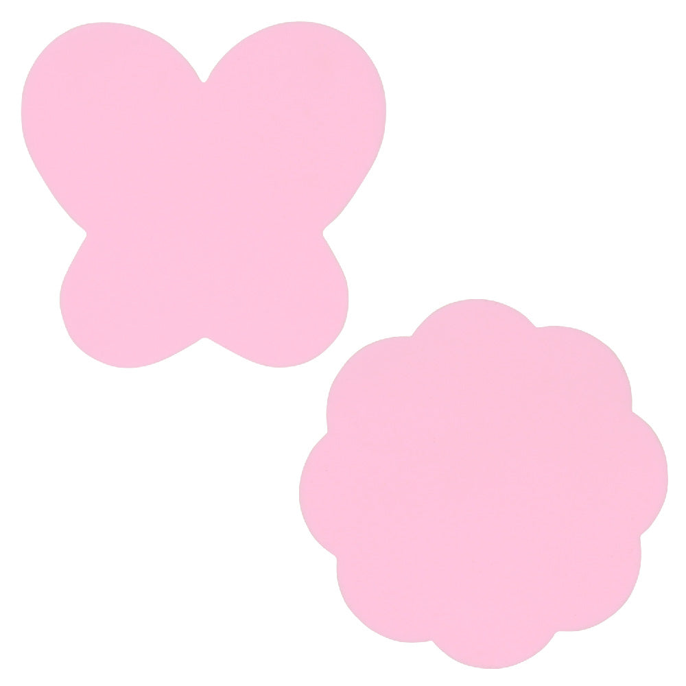 Pink Butterfly Flower Nail Art Silicone Palettes