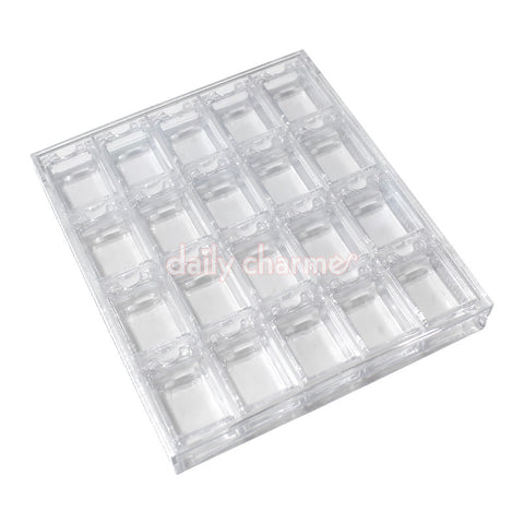 Daily Charme Nail Art Acrylic Nail Art Decor Storage Box
