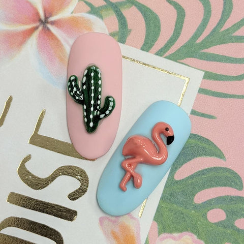 Daily Charme Silicone Nail Art Mold / Summer Vibes