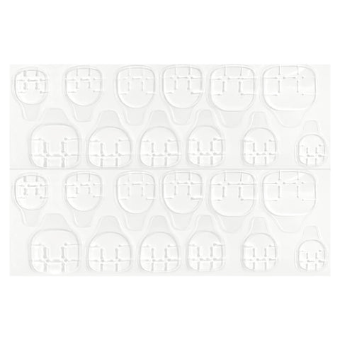 Press On Nail Double Sided Sticker Clear Tabs