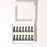 Color Clutch Universal Nail Polish Case Organizer / White