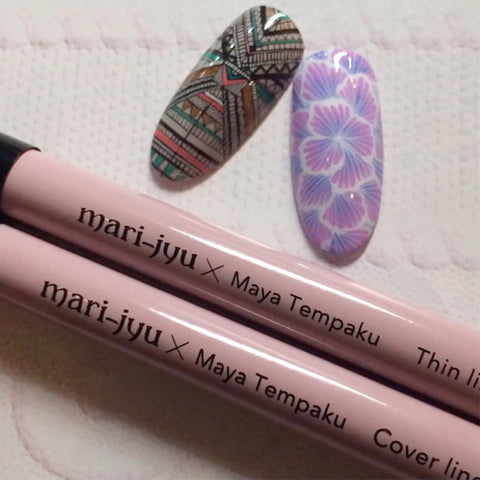 Mari-jyu × Maya Tempaku Art Brush / Cover Liner