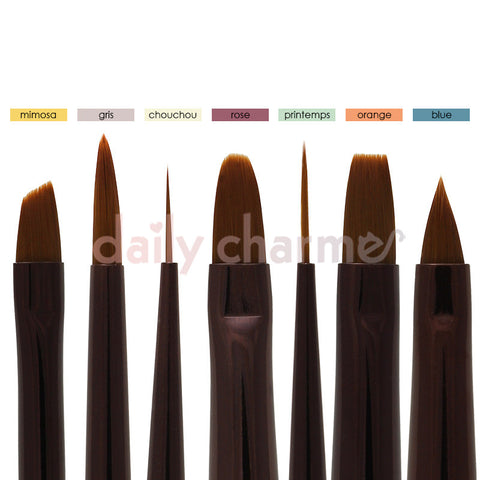 Quality Tati Gel Nail Art Brushes Set