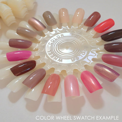 Nail Art Display Wheels / White