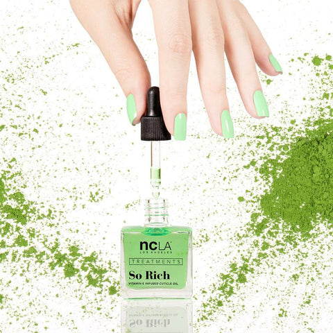 Daily Charme Nail Art NCLA So Rich Cuticle Oil / Matcha Tea