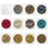 Colorful Metallic Nuggets Set / 12 Colors Nail Art Stones
