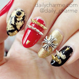 Nail Decor - Gold Foil Flakes