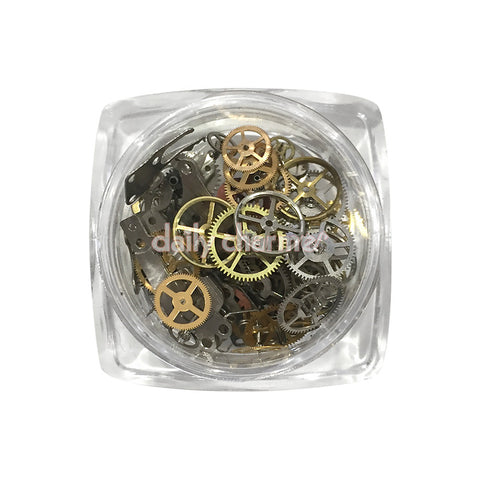 Steampunk Nail Vintage Watch Gears / Assorted 3D Nail Art Decoration Daily Charme